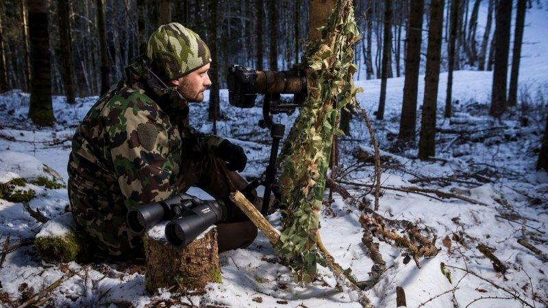 Saint-Oyens: Julien Regamey danse avec les loups dans le Jura vaudois