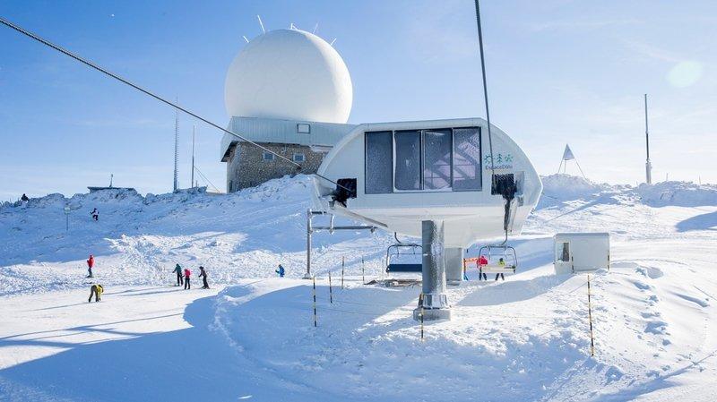 La Dôle continuera d'accueillir les skieurs jusqu'aux vacances