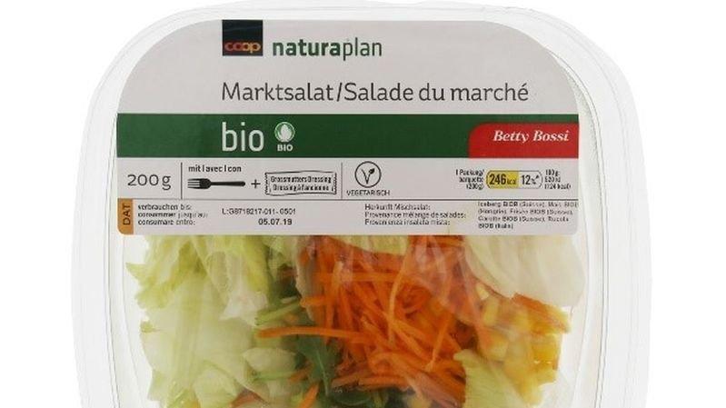 Coop rappelle une salade composée en raison de listerias