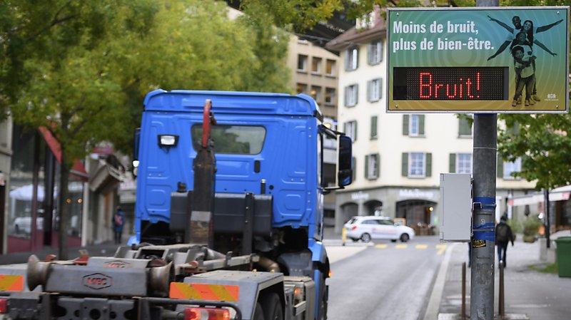 La ville de Lausanne se dote d'un radar antibruit