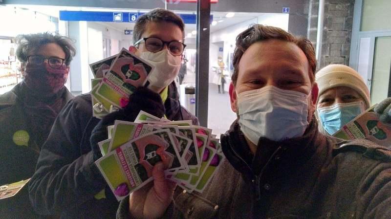A Morges, une distribution de flyers tourne à la guéguerre politique
