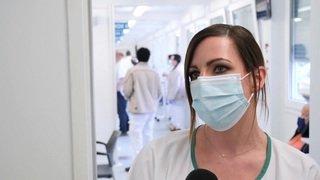 Premier jour de vaccination avec le vaccin de Moderna