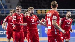 Handball: la Suisse crée la surprise au Mondial en battant l'Islande