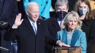 Etats-Unis: la journée d'investiture de Joe Biden, 46e président