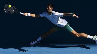 Tennis – Open d'Australie: Novak Djokovic accroché