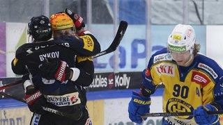 Hockey sur glace - National League: nouveau match fou entre Fribourg et Davos, Bienne gaspille