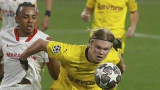 Football – Ligue des Champions: Dortmund et Haaland gagnent à Séville, la Juventus perd à Porto