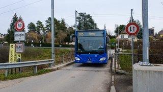 Nyon-Prangins: perturbations en vue pour le bus 805