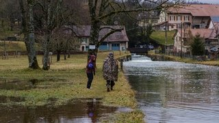 De la Serine à la Venoge, au bord des rivières en crue