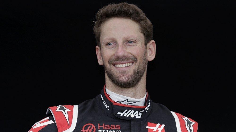 Après son accident, Romain Grosjean a retrouvé le sourire de l'autre côté de l'Atlantique.