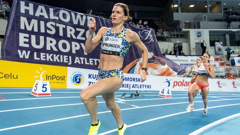 Lea Sprunger a déjà arpenté la piste de Toruń cette saison à l'occasion d'un meeting organisé le 17 février. Elle avait remporté sa course en 52''38.