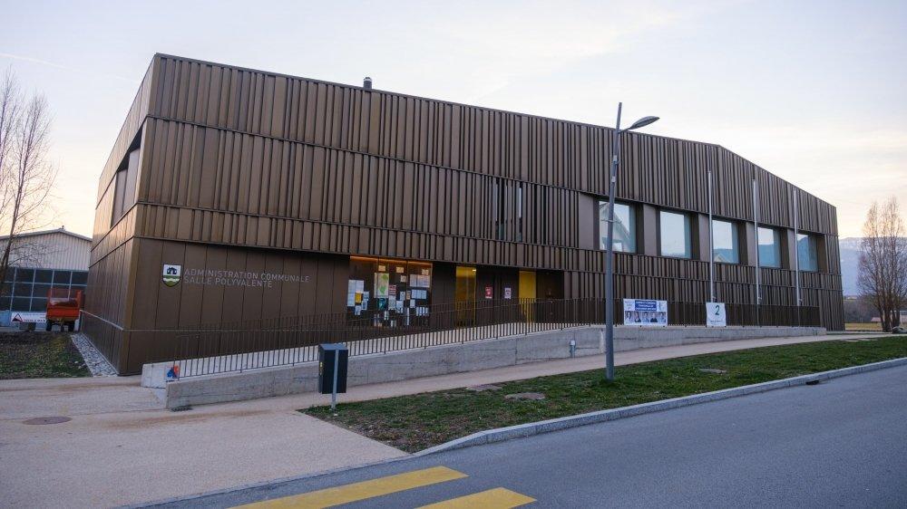La construction de l'administration communale et de la salle polyvalente a été un des gros dossiers de la législature qui s'achève.