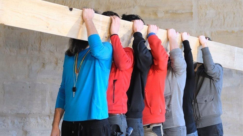 Leur série intitulée «In Wood We Trust» a fait voyager les Frères Chapuisat à l'international dans des lieux insolites.