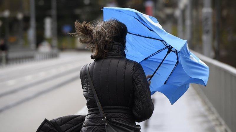 Alerte météo: la dépression orageuse «Klaus» balaie la Suisse