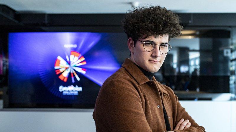 Eurovision: le Romand Gjon's Tears chantera «Tout l'univers»