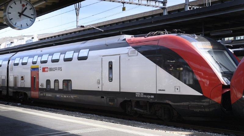 Trafic ferroviaire: la liaison Genève-Lausanne perturbée
