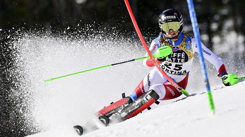 Ski alpin – Mondiaux de Cortina: Holdener et Rast dans le top 10 provisoire du slalom, Gisin éliminée