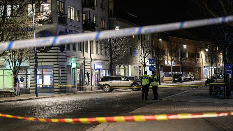 Suède: attaque terroriste présumée, huit personnes blessées