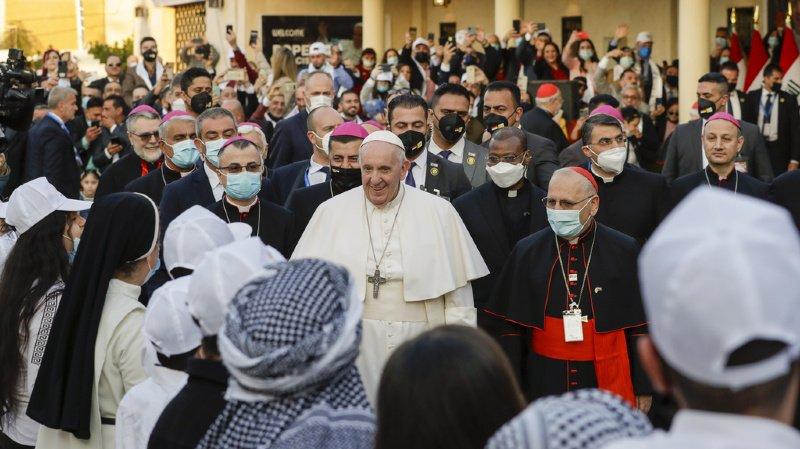 Eglise catholique: le pape et l'ayatollah chiite Sistani s'engagent pour la «paix»