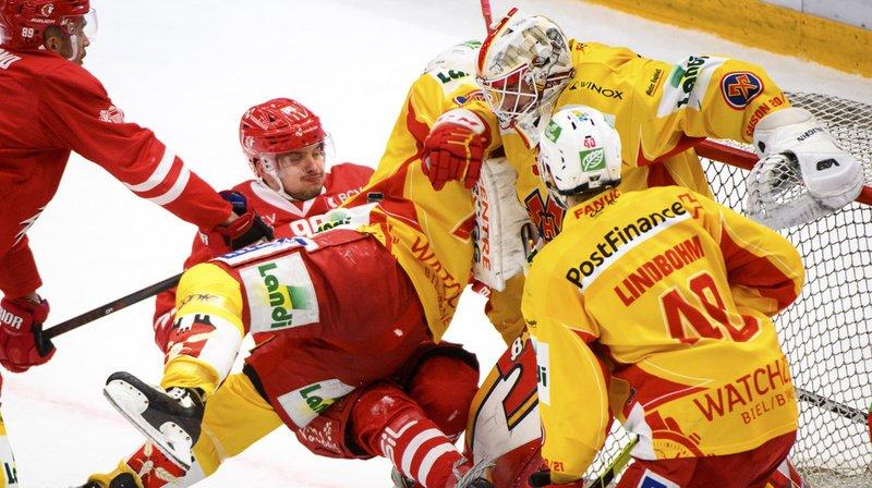 Hockey sur glace – National League: Lausanne battu chez lui par Bienne