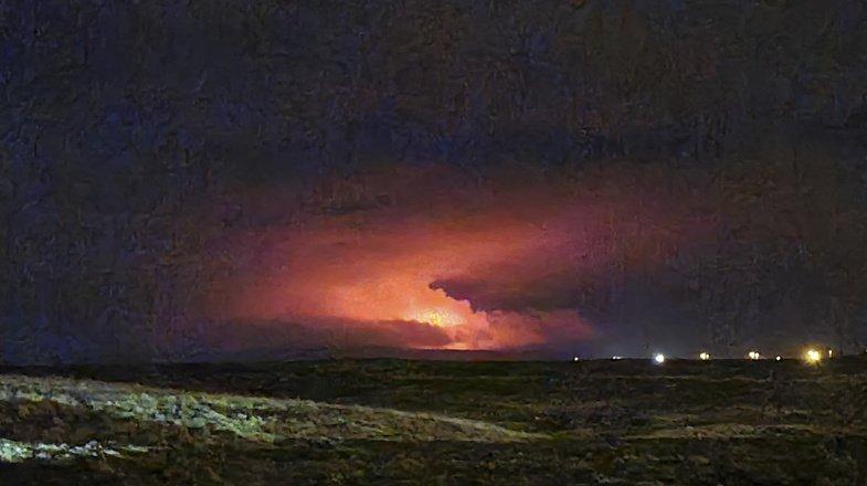 Islande: éruption volcanique en cours près de Reykjavik