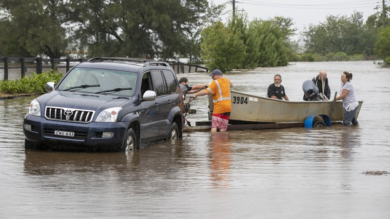 Australie: Sydney s'attend à ses pires inondations depuis des décennies