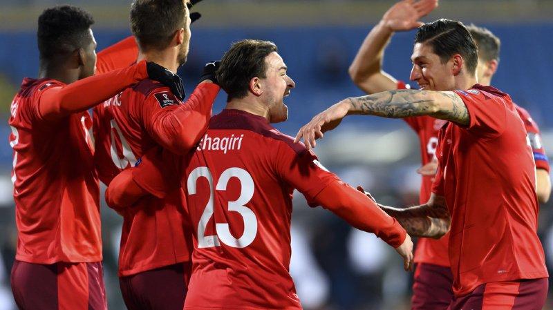 Football - Mondial 2022: bon départ pour la Suisse, qui domine la Bulgarie