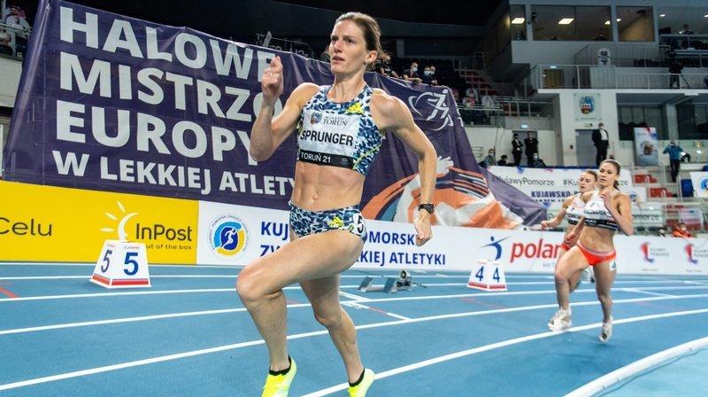 Européens en salle à Torun: Lea Sprunger passe en demi-finales