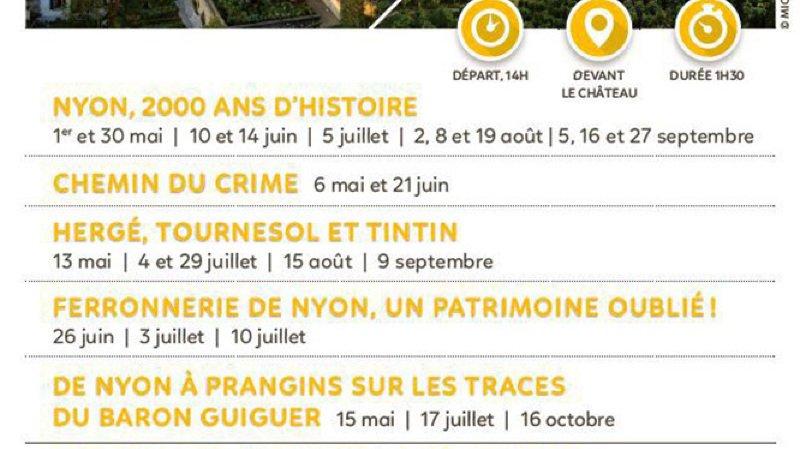 Visite guidée - Nyon, 2000 ans d'histoire