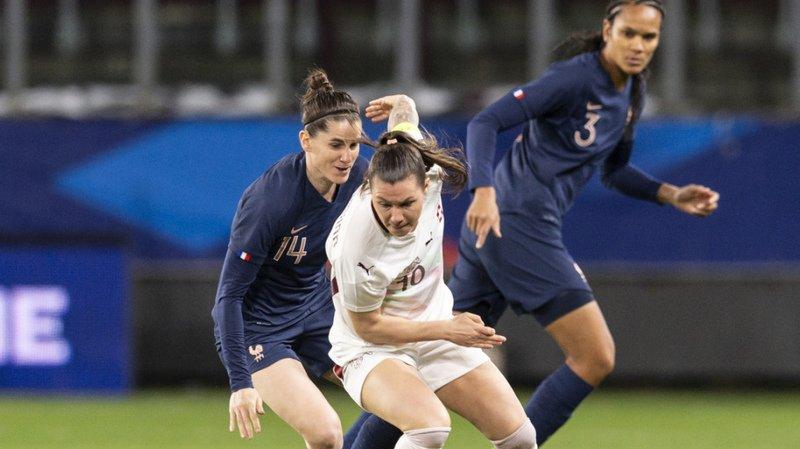 Football: les Suissesses s'inclinent contre la France en match amical