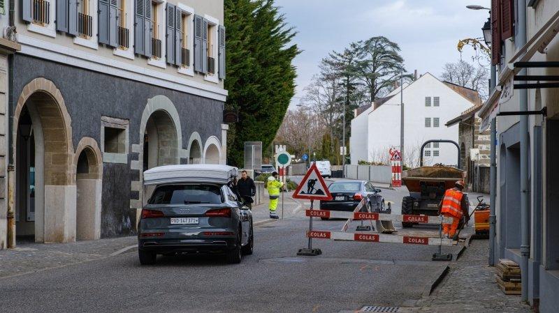 Traversée de Coppet: les travaux seront bien moins longs que prévu