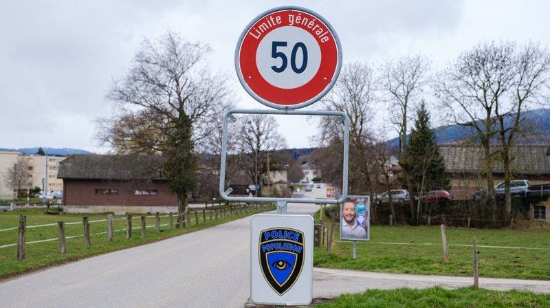 A l'entrée du village de Bière, en venant de Ballens, un panneau a été dérobé.