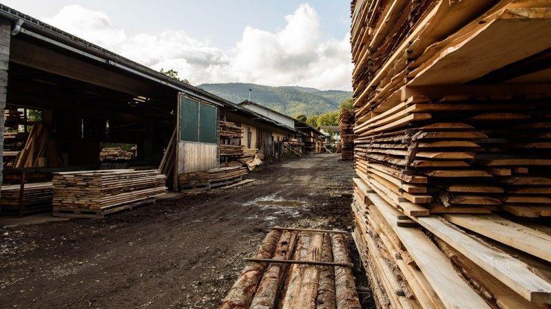 Région de Nyon planche sur un site pour la valorisation du bois