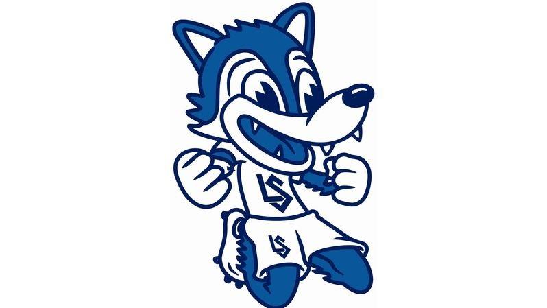 """Qui sera le plus créatif au moment de dessiner Loupo, la célèbre mascotte des """"bleu et blanc""""?"""