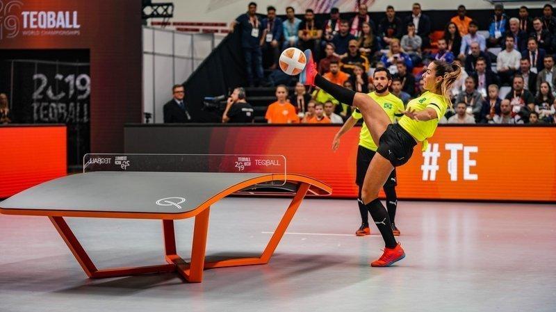 Le teqball, ce sport né en Hongrie sur lequel table Gland