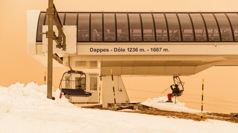 Ski à la Dôle: pour éviter la prune, il faut montrer patte blanche