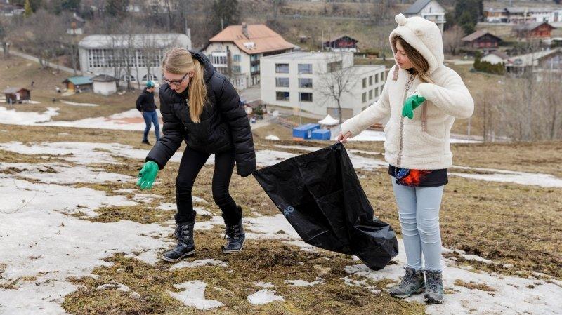 Saint-Cergue: «Sans déchets, notre village est magnifique!»