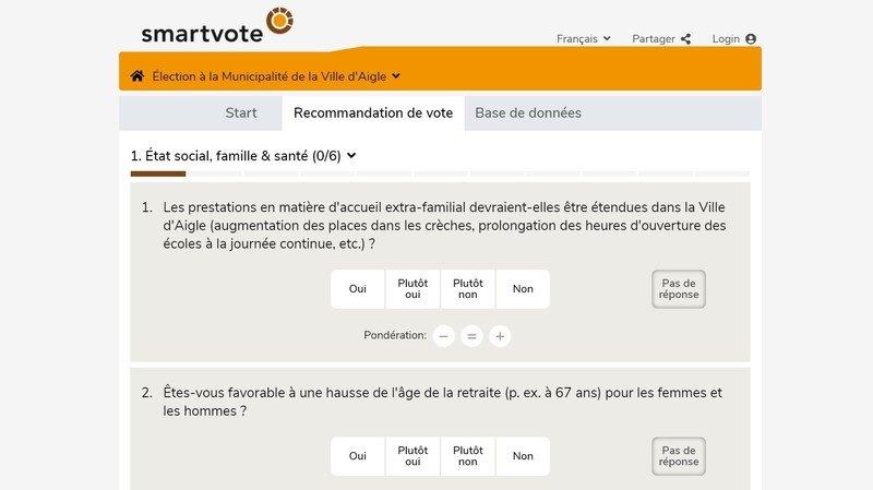 Pourquoi vous ne trouverez pas les communes de La Côte sur smartvote