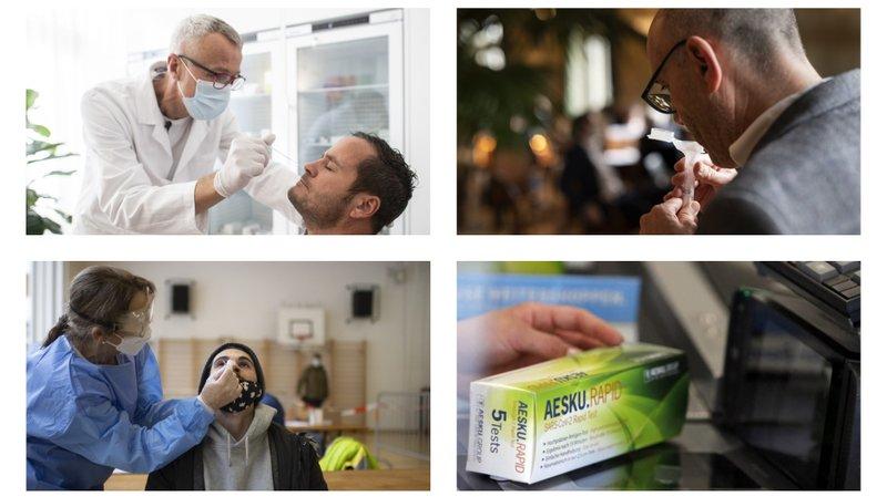 Coronavirus: quels tests pouvez-vous faire en Suisse?