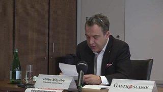 GastroSuisse exprime son mécontentement après les annonces du Conseil fédéral