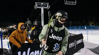 Ski freestyle: fin de saison pour Andri Ragettli, blessé au genou gauche