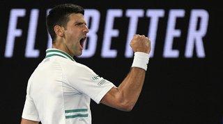 Tennis: Novak Djokovic remporte l'Open d'Australie, son 18e titre en Grand Chelem