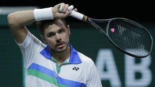 Tennis: Stan Wawrinka sorti d'entrée du tournoi de Doha