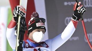 Ski alpin: Beat Feuz remporte le globe de la descente sans disputer la dernière course