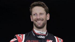 Romain Grosjean a repris le volant trois mois après son accident