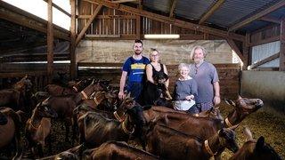 Aubonne: les Burnet quittent leurs chèvres mais pas la Croix-de-Luisant