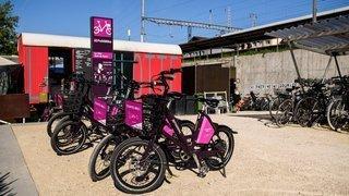 Nyon: quatre nouvelles stations pour les vélos en libre-service