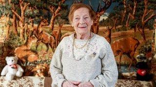 A 100 ans, cette Pranginoise aime encore aller au tea-room et pâtisser