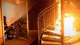 Une nouvelle piste d'entraînement pour les pompiers vaudois