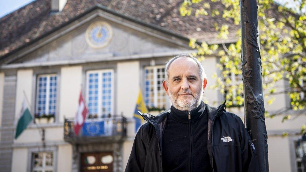 Yvan Luccarini est le nouveau syndic de la ville de Vevey.